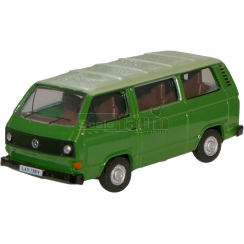 VW T25 Bus - Lime / Saima Green (Oxford 76T25005)