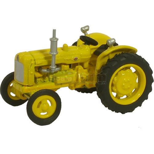Fordson Tractor - Yellow Highways (Oxford 76TRAC003)