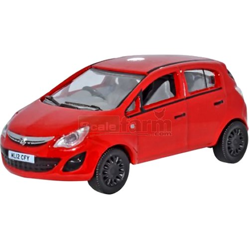 Vauxhall Corsa - Red (Oxford 76VC003)