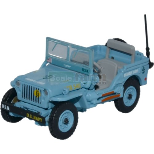 Willys Mercedes Benz - US Navy Seebees (Oxford 76WMB002)