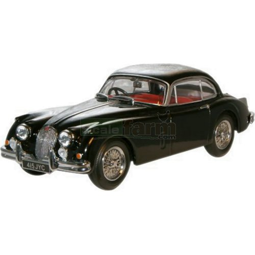 Jaguar XK150 - Black (Oxford JAGXK150001)