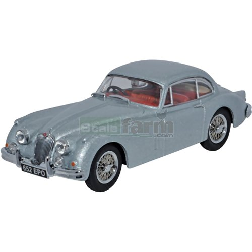 Jaguar XK150 Fixed Head Coupe - Mist Grey (Oxford JAGXK150007)