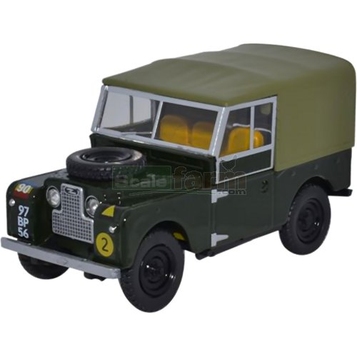 "Land Rover Series I 88"" Canvas - REME (Oxford LAN188020)"