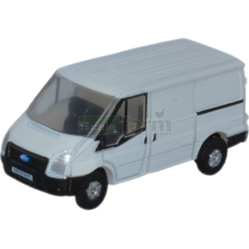 Ford Transit SWB Low Roof - White (Oxford NFT001)