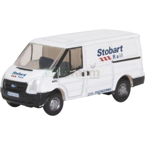 Ford Transit Mk5 Low Roof - Stobart Rail (Oxford NFT012)