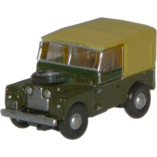 "Land Rover 88"" Canvas - Bronze Green (Oxford NLAN188009)"
