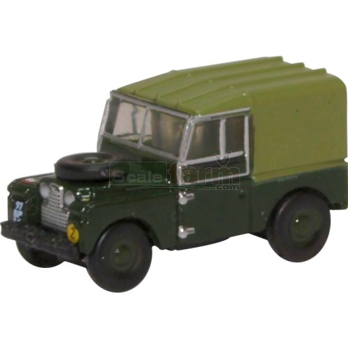 Land Rover Series I 88 Canvas - REME (Oxford NLAN188020)