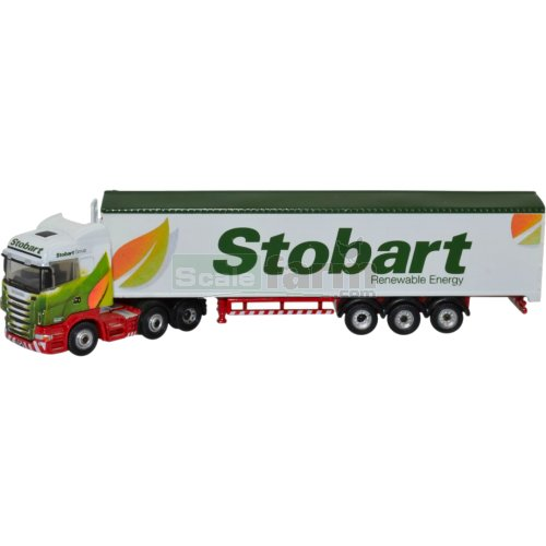 Scania Highline Walking Floor - Stobart Biomass (Oxford NSHL02WF)