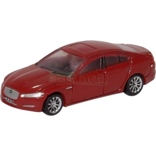 Jaguar XF - Carnelian Red (Oxford NXF001)