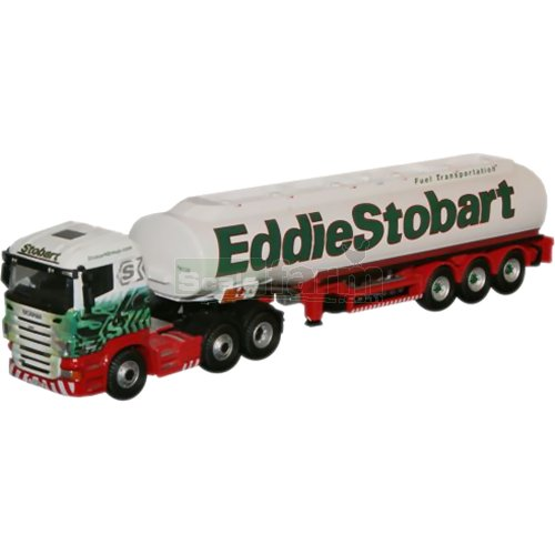 Scania Highline Fuel Transportation Tanker - Eddie Stobart (Oxford SHL03TK)