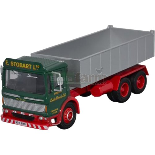 AEC Ergomatic 6 Wheel Tipper - Eddie Stobart (Oxford STOB004)