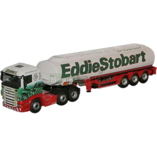 Scania Highline Tanker - Eddie Stobart (Oxford STOB013)