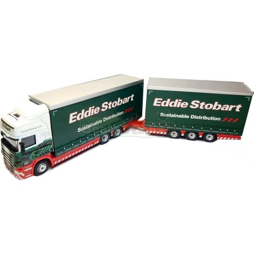 Scania R440 Topline Drawbar Unit - Eddie Stobart (Oxford STOB032)