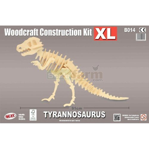 X-Large Tyrannosaurus Woodcraft Construction Kit (Quay B014)