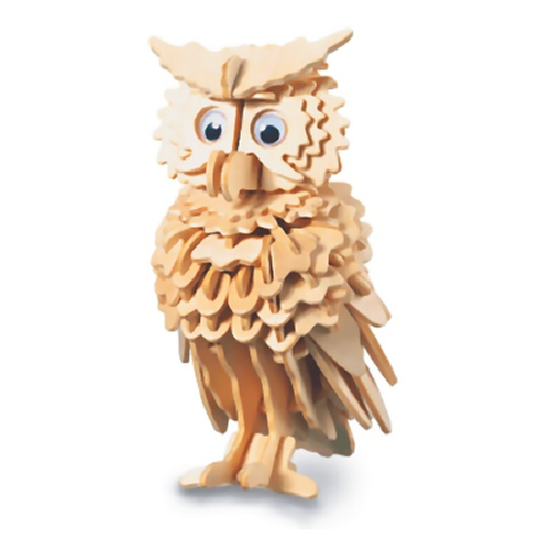 Owl Woodcraft Construction Kit (Quay E038)