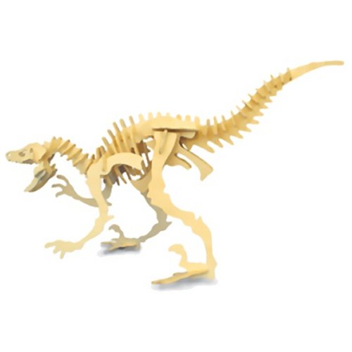 Small Velociraptor Woodcraft Construction Kit (Quay J004)