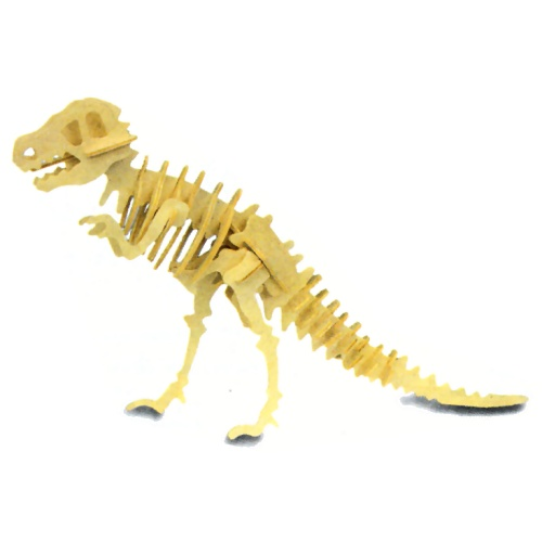 Small Tyrannosaurus Woodcraft Construction Kit (Quay J014)