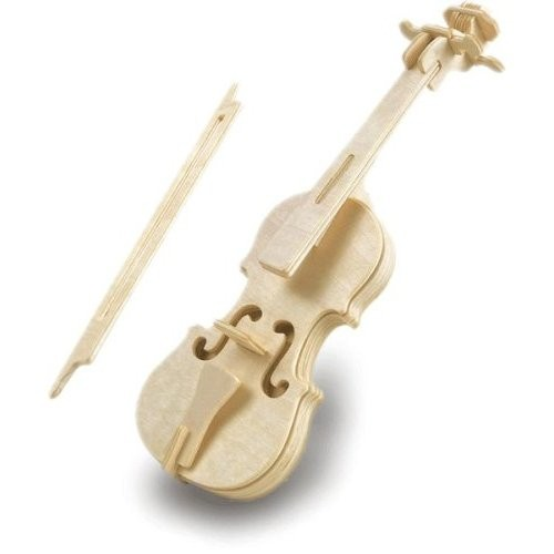 Violin Woodcraft Construction Kit (Quay L001)