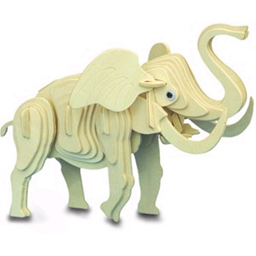 Elephant Woodcraft Construction Kit (Quay M016)
