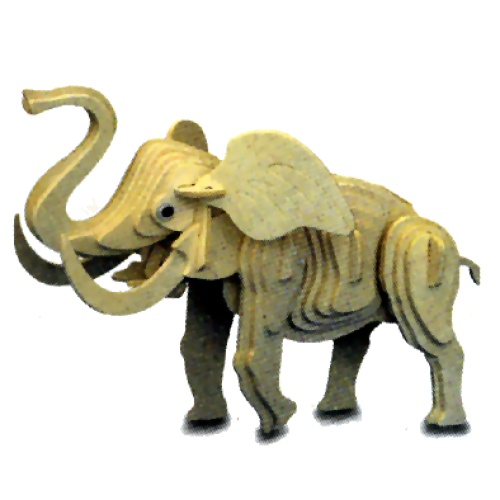 Little Elephant Woodcraft Construction Kit (Quay M029)