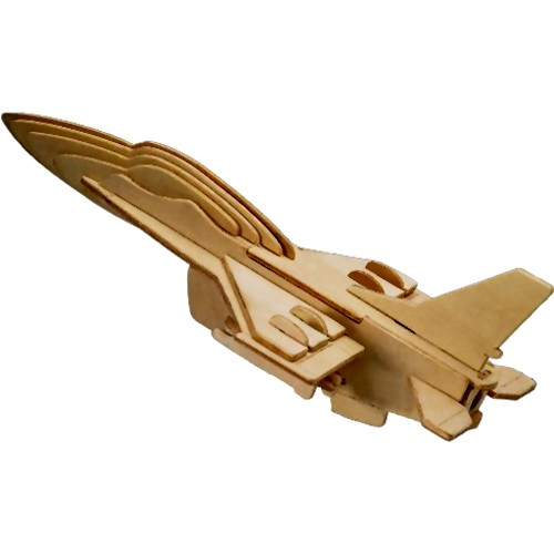 F-16 Fighter Woodcraft Construction Kit (Quay P040)