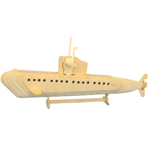 Submarine Woodcraft Construction Kit (Quay P042)