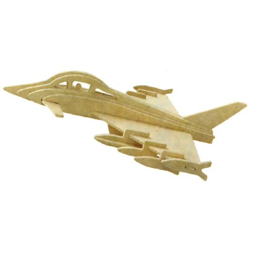 Euro-Fighter Woodcraft Construction Kit (Quay P098)