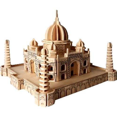 Taj Mahal Woodcraft Construction Kit (Quay P210)
