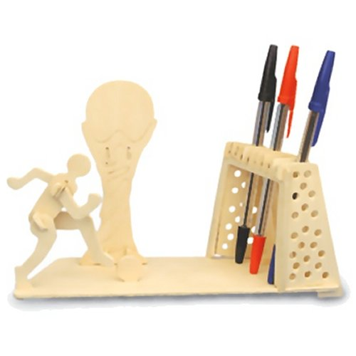Football Pen Holder Woodcraft Construction Kit (Quay S011)