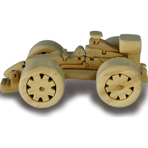 F1 Racing Car Wooden Puzzle (Large) (Quay TD038)