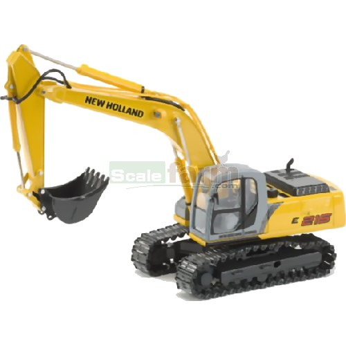 New Holland E215 Tracked Backhoe (ROS 00175)