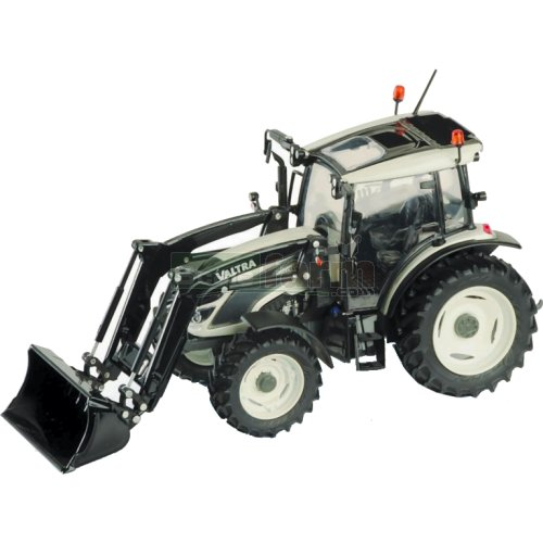 Valtra A104 Tractor with Front Loader - White (ROS 30154)