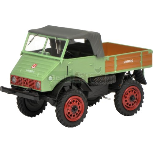 Mercedes Benz Unimog 401 - Light Green (Schuco  03132)