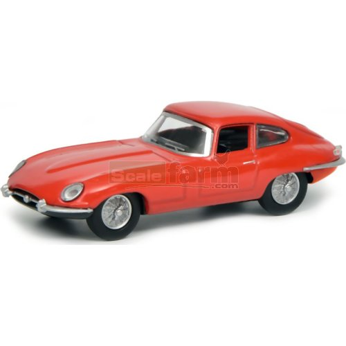 Jaguar E-Type Coupe - Red (Schuco 20175)