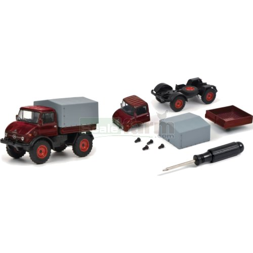 Unimog U406 Construction Kit (Schuco 20198)