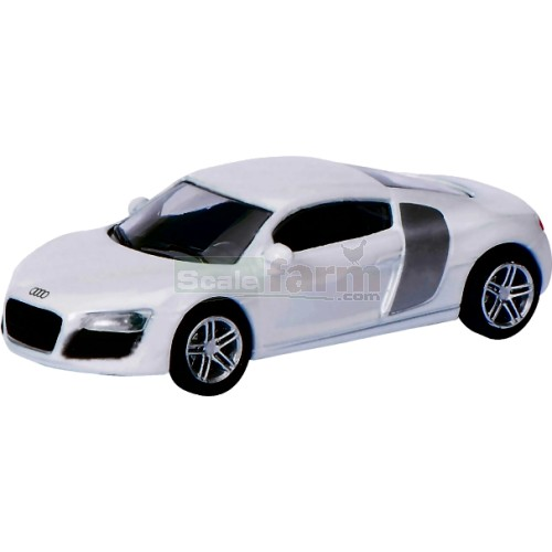 Audi R8 Coupe - White (Schuco 26100)