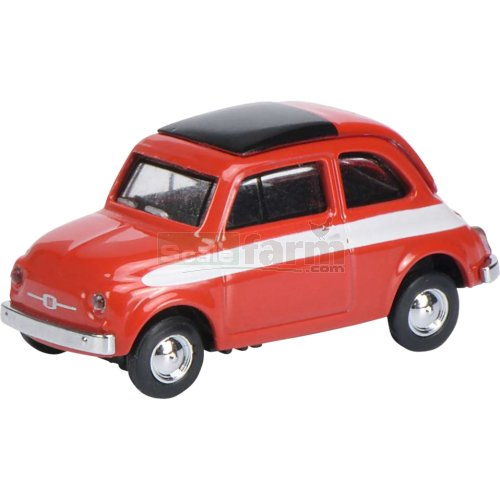Fiat 500 - Red (Schuco 26272)