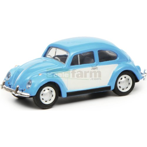 VW Kaefer - Blue / White (Schuco 26402)