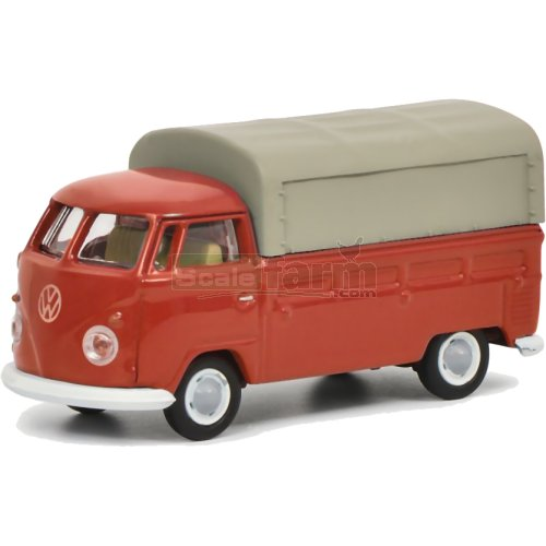 VW T1 Pickup - Red (Schuco 26443)