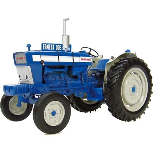 Ford 5000 Doe Demonstrator Vintage Tractor (Limited Edition) (Universal Hobbies 2705D)