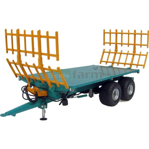 Rolland BH100 Flat Trailer with Hay Lades (Universal Hobbies 4124)