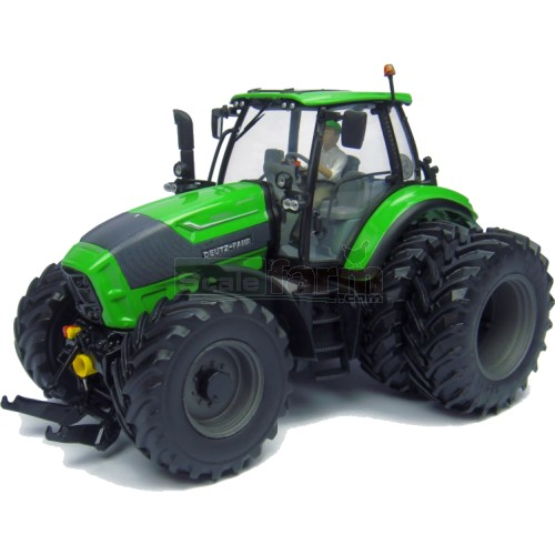 Deutz Fahr Agrotron TTV 7250 6 Wheel Tractor with Driver Figure (Universal Hobbies 4296)
