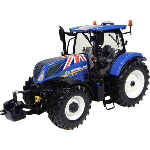 New Holland T7.225 Tractor 'UK Flag' Edition (Universal Hobbies 4901)