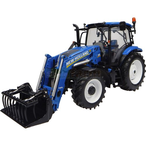 New Holland T6.145 Tractor with 740TL Front Loader (Universal Hobbies 4956)