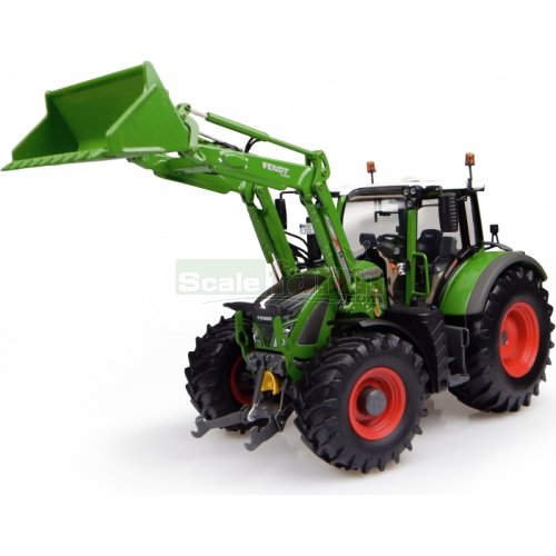 Fendt 722 Vario with Front Loader 'Nature Green' Colour (Universal Hobbies 4975)