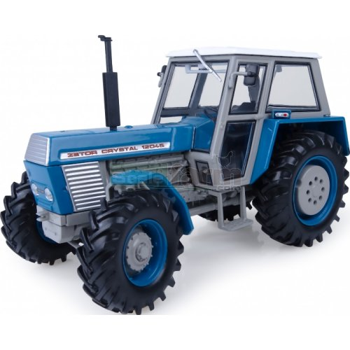 Zetor Crystal 12045 4WD Tractor - Blue Edition (Universal Hobbies 4985)