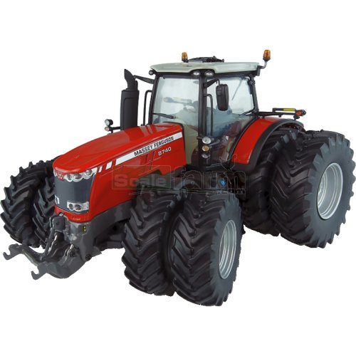 Massey Ferguson 8740 Tractor with Dual Wheels (Universal Hobbies 5243)