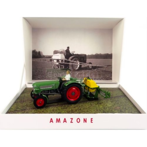 Amazone S300 Sprayer and Fendt Farmer 2 with Driver Limitied Edition Box Set (Universal Hobbies 6201)