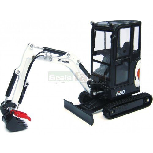 Bobcat E20 Excavator with Cabin (Universal Hobbies 8098)