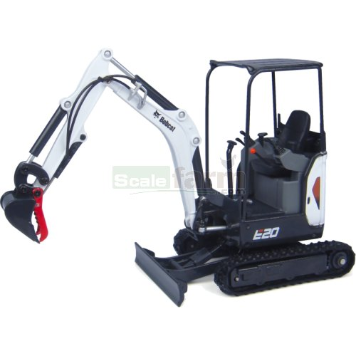 Bobcat E20 Excavator with Canopy (Universal Hobbies 8099)